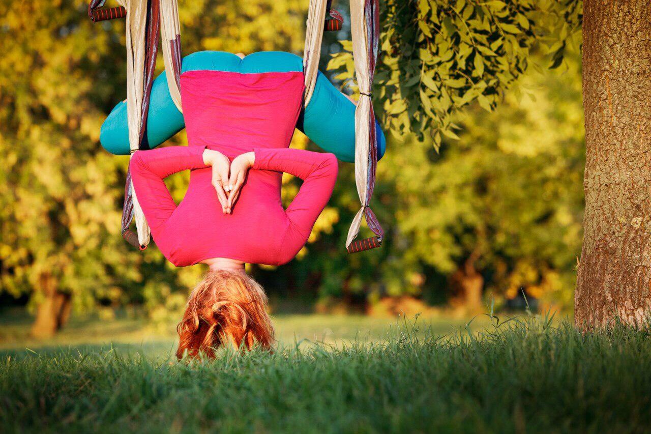 базовый тренинг по йоге, йога, воздушная йога